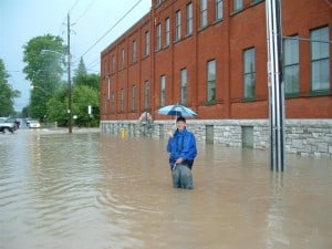 Peterborough Flood 2004 - Janine Jones