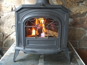 The smell of a woodstove