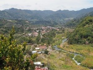Boquete, Panama - nestled in the mountains - D. Monkman