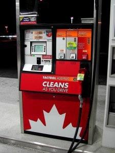 Petro Canada fuel pump -Wikimedia