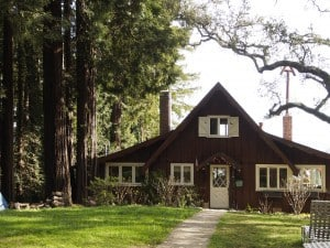 We rented the ground floor of this beautiful old Mill Valley home on the side of Mt. Tamalpais (Photo: Drew Monkman)