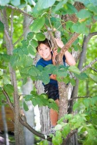 Children love to play in nature - and climb trees! (Jacob Rodenburg)