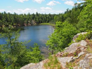 Minnow Lake on the Nanabush Trail - Drew Monkman